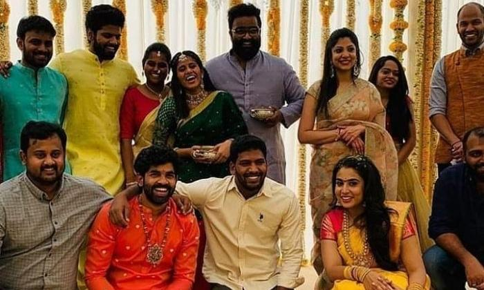 Pics From Rajamouli Son Wedding