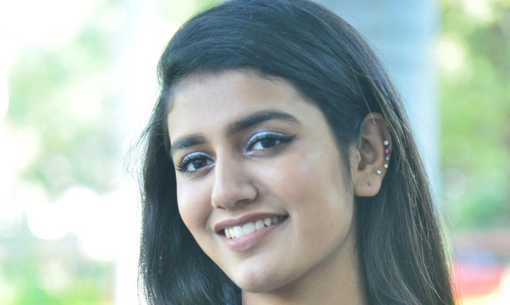 Actress Priya Prakash Varrier Interview Stills