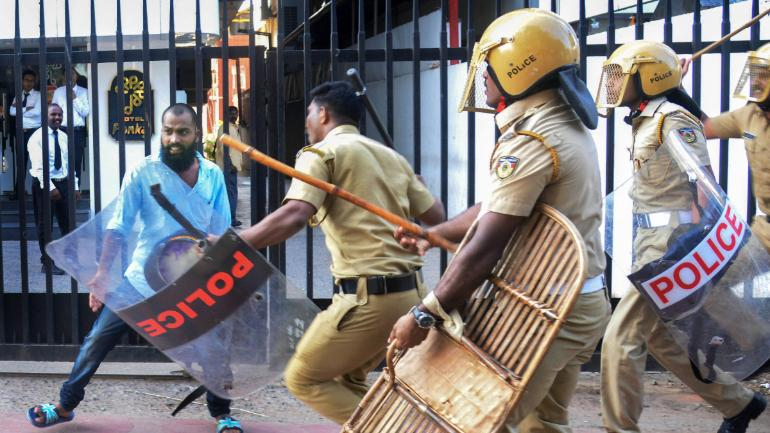 Sabarimala protests