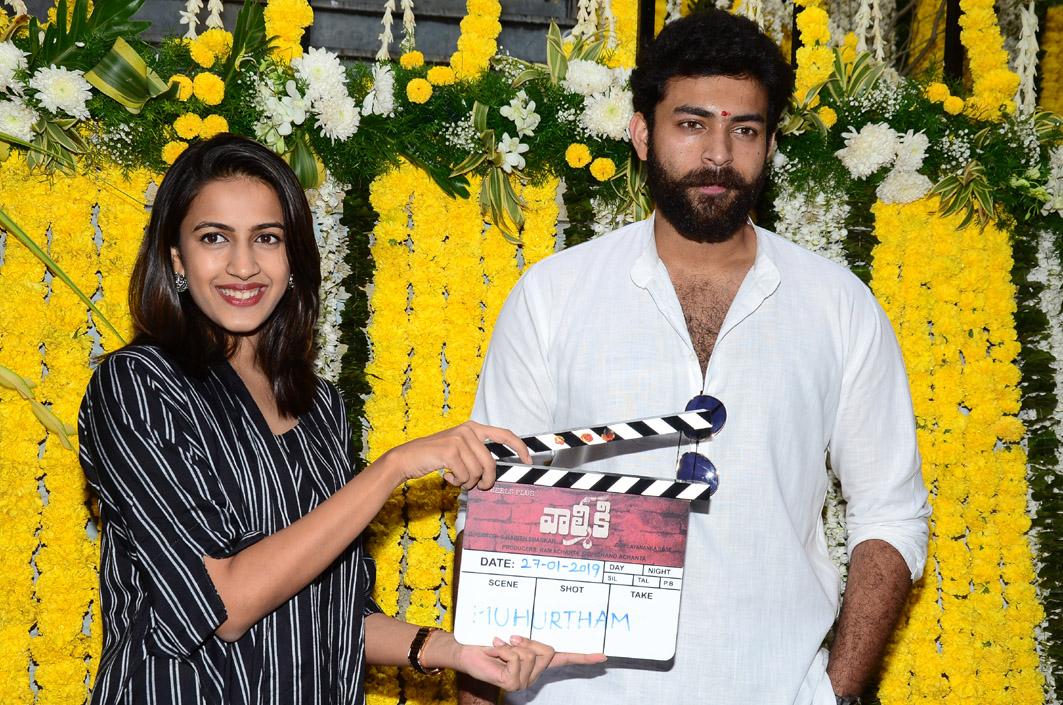Varun Tej New Movie Valmiki Opening Pics