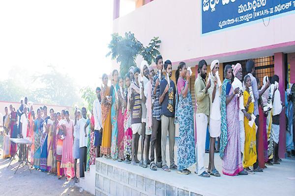 మూడో విడత పంచాయితీ పోలింగ్ ప్రారంభం.. ఏకగ్రీవమైనవి ఇవే