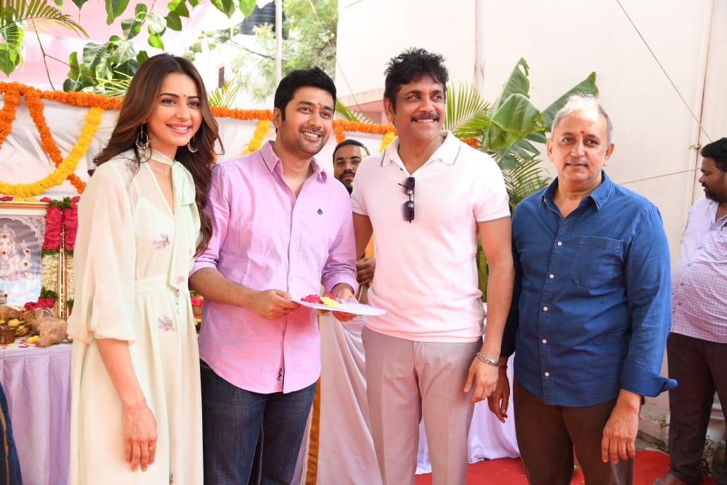 Manmadhudu 2 Movie Opening Stills