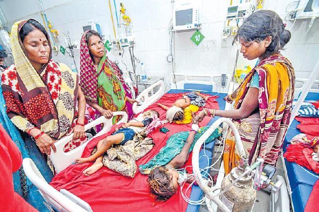 బీహార్ ముజఫర్పూర్లో మృత్యుకేళి.. 103కు చేరిన చిన్నారుల మరణాలు