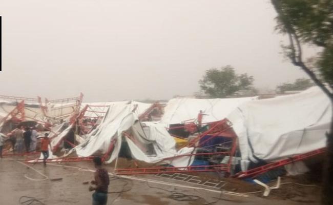 రాజస్థాన్లో గాలీవాన బీభత్సం.. టెంట్కూలి 14 మంది మృతి
