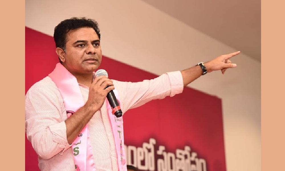 మున్సిపల్ ఎన్నికల్లో బీజేపీకి అ ఛాన్స్ ఇవ్వొద్దు : కేటీఆర్