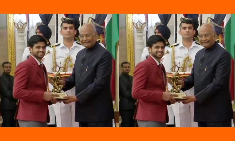 sports awards: క్రీడాకారులకు పురస్కారాలు..అర్జున అవార్డు అందుకున్న సాయి ప్రణీత్
